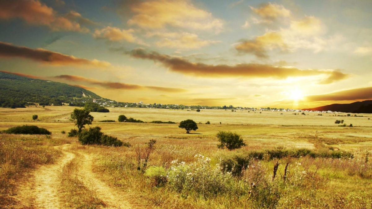 Panorama paysage climatique